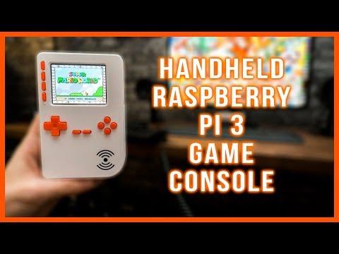 Portable Raspberry Pi 3 Game Console