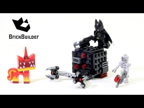 Lego Movie 70817 Batman & Super Angry Kitty Attack - Lego Speed build