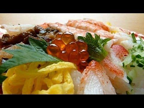 Eating Japanese food Sushi