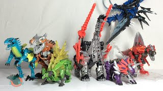 Transformers 4 Age of Extinction ALL Dinobots Review