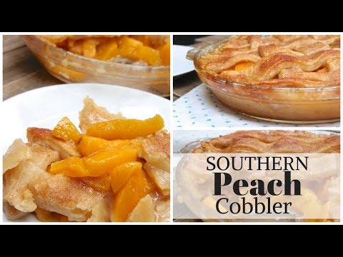 How to Make Easy Southern-Style Peach Cobbler