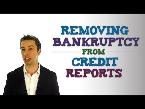 When Will A Discharged Bankruptcy Fall Off Your Credit Report?