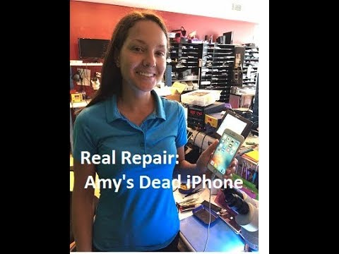 Small Town Real Repair--Apple says Amy must replace her iPhone 6s