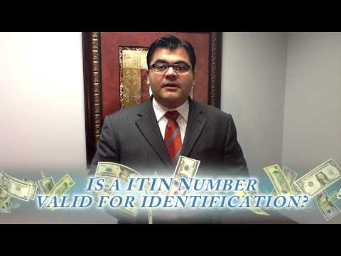 234 - Is a ITIN Number valid for identification?