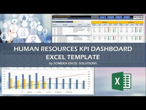 HR KPI Dashboard Template | Ready-To-Use Excel Spreadsheet