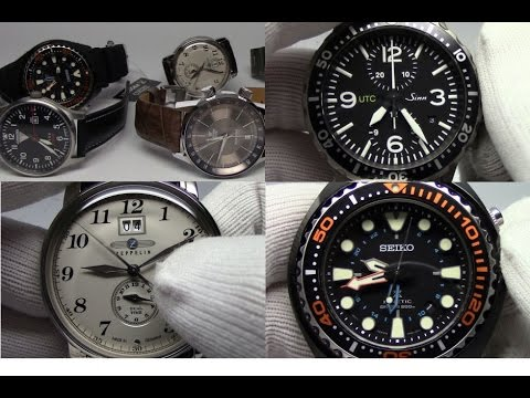 Setting and Using a Dual Time (GMT) Watch - Watch and Learn #10