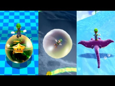 Super Luigi Galaxy Walkthrough - Part 22 - The Trials Galaxies