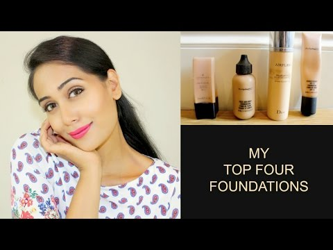 My Top 4 Foundations For Asian, Tanned, Olive Skin + SWATCHES | Girly Whirly