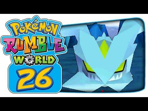 Pokémon Rumble World - Part 26: Espeon, Terrakion, & Kyurem Boss Battles!