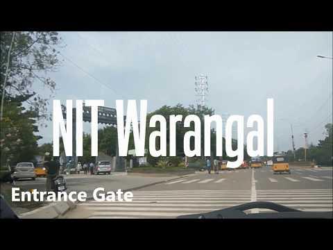 NIT Warangal Hostel, Mess and Campus Tour 2017