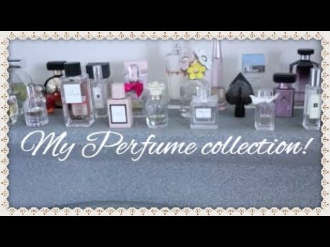 Updated Perfume Collection 2018!