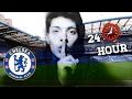 24 HOUR OVERNIGHT In Chelsea Football Stadium Fort! (Stamford Bridge)