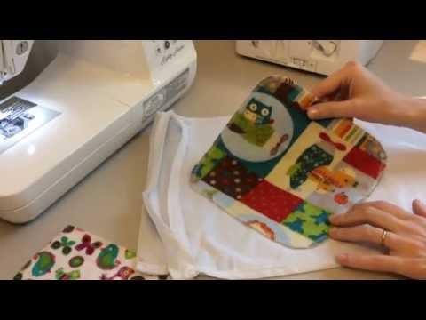 DIY Flannel Washcloth Pt 1: Serged