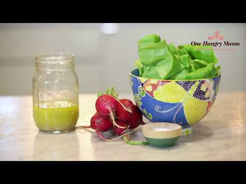 How to make the Best Vinaigrette without a recipe | One Hungry Mama