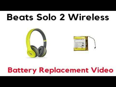 How to Replace Beats Solo 2 Wireless Battery Swap Repair Fix