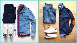 #x202b;تنسيق افضل 20 طقم ملابس رجالي شتوي شيك جداً 2019 - 2020#x202c;lrm;