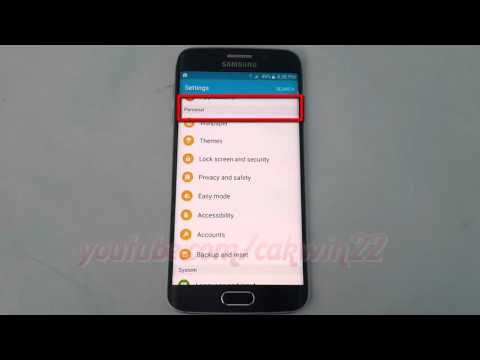Android Lollipop : How to Change Weather Unit (degrees centigrade or Fahrenheit) on Galaxy S6