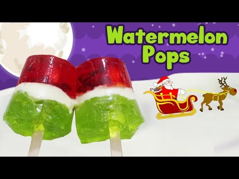 How To Make Chocolate Watermelon Pops