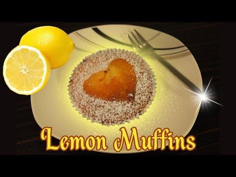 Easy Recipe for Lemon Muffins