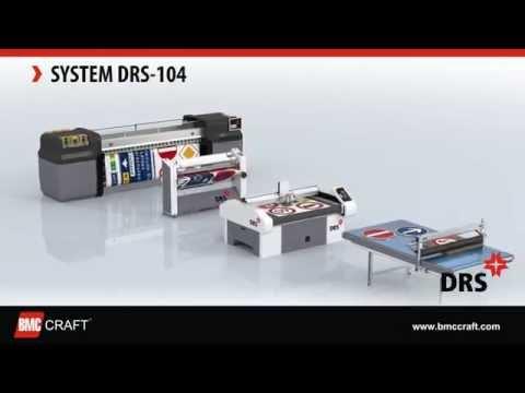 DRS 104 - (II gen.) Digital Road Sign Fabrication System (Printer, Laminator, Plotter, Applicator)