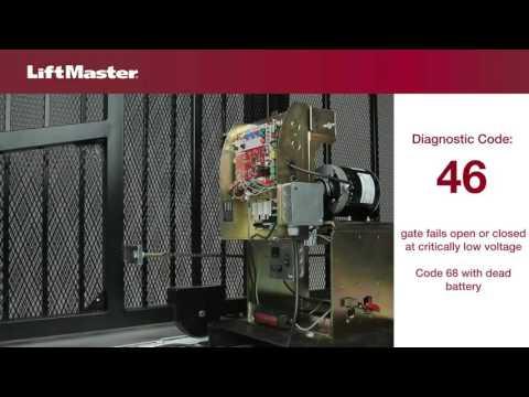 LiftMaster - Error Code 46 - Troubleshooting Gate Wireless Safety Edge