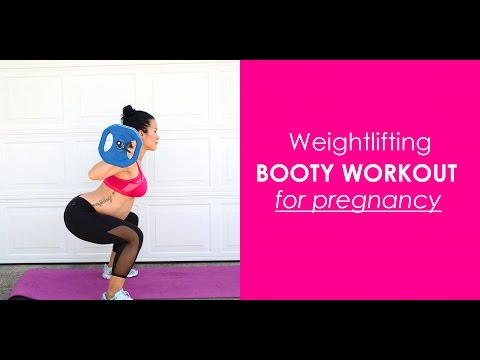 Weightlifting Booty Workout For Pregnancy