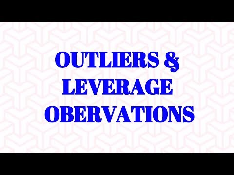 Difference between Outliers & Leverage Observations in Data Science Models