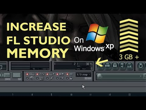 How To Incease FL Studio Memory On Windows Xp