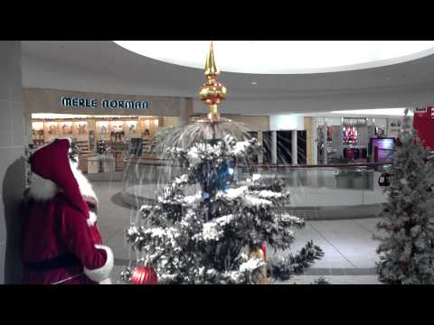 Snowing Artificial Christmas Tree