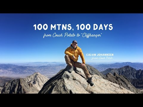 100 Mountains, 100 days - Calvin Johannsen