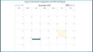 Tutorial codeigniter 23 - FullCalendar, listar Eventos desde BD