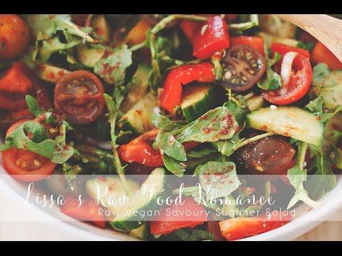 RECIPE: FRENCH DRESSING + Raw Vegan Fruiting Vegetable Salad