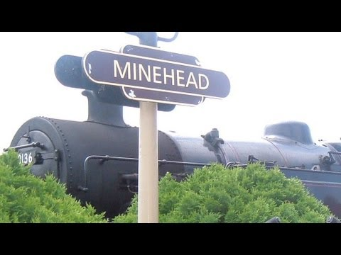 Minehead & Watchet Station & Steam Trains (West Somerset Steam Railway)
