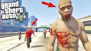 FRANKLIN BECOME ZOMBIE IN GTA 5 || BB GAMING