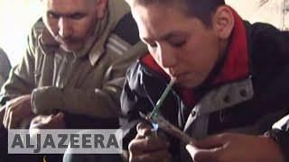 Download Drug addiction rise Afghanistan Video