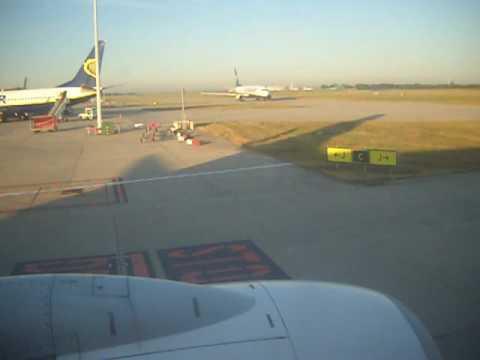 FR611 - STN to LDY - Takeoff