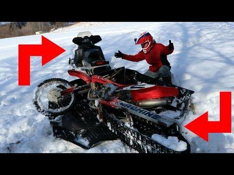 snow bike RESCUE MISSION