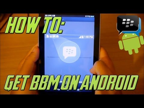 BBM on Android Early
