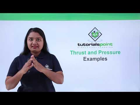 Class 9th Physics - GRAVITATION - Thrust and pressure examples