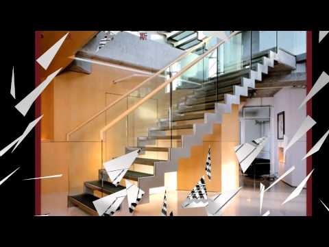 stainless steel glass railings installed video