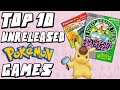 Top 10 Pokemon Games That Were Never Released