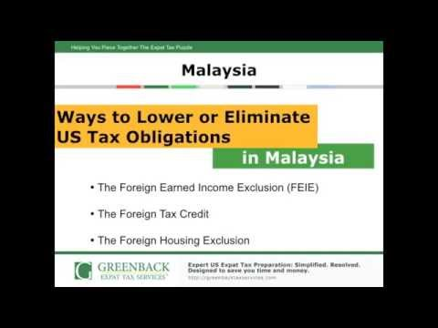 Filing US Taxes Abroad While Living in Malaysia