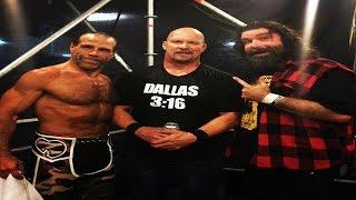 Shawn Michaels , Stone Cold & Mick Foley RETURNS Wrestlemania 32