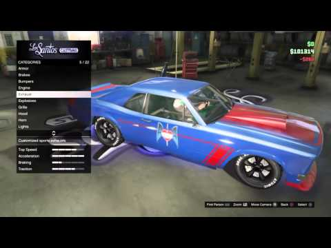 Gta 5 fast and furious tokyo drift ford mustang car build