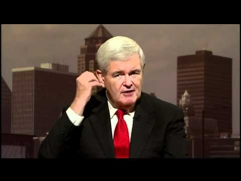 Gingrich on New 'Contract With America,' Jobs, Brain Research, Elites