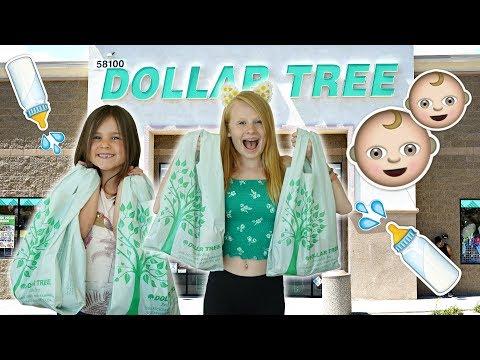 KiDS DOLLAR TREE BABY SHOPPiNG CHALLENGE! 💲👶