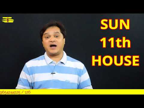 SUN 11TH HOUSE||LALKITAB GRAMMAR ONLINE CLASSES||SURYA KA 11th HOUSE