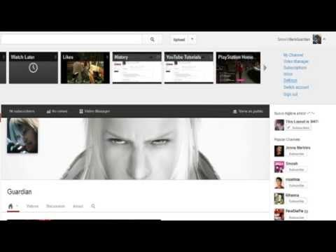 How to make your YouTube One Channel Private 2013