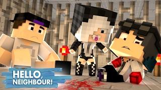 Minecraft: HELLO NEIGHBOR - A FILHA DO VIZINHO NOS RESGATOU!