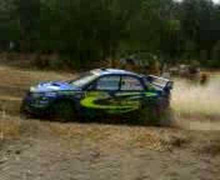 Subaru Impreza GrN, Acropolis Rally 2008, Thiva